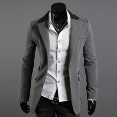 men's fashion jackets men's casual suit Korean version of Slim suits quality assurance free shipping. A48 on AliExpress.com. $41.30