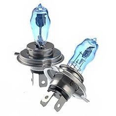 Pixnor H4 12V 100W/90W 6000K Super lumineux blanc lumière Xenon ampoules lampe phare – une paire