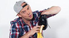 Jak vyčistit boty banánovou slupkou Foto:
