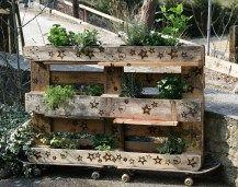 HängendeGärten (15) Industrial Furniture, Upcycle, Recycling, Upcycling, Repurpose