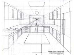 room perspective grid - Google Search