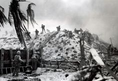 Battle of Tarawa. Nov 1943.