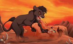 Rivals by on DeviantArt Lion King Story, Lion King 1, Lion King Fan Art, Lion Art, Disney Lion King, Cat Character, Character Design, Lion King Drawings, Lion King Pictures