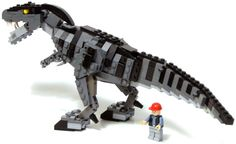 In an official press release, Universal has announced its partnership with Lego to create a line of toys to support the release of the Jurassic World movie in the summer of Which, you know, YAY LEGO DINOSAURS EVERYONE! I better start saving now! Lego Jurassic Park, New Jurassic World, Lego Jurassic World Toys, Lego Dinosaurus, Legos, Lego Custom Minifigures, Lego Animals, Lego Activities, Lego Craft