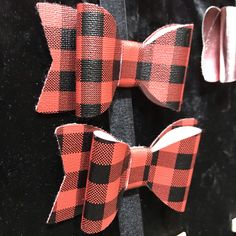 Handmade leather bow ties by The Beautiful Platypus. Holiday Market, Platypus, Leather Bow, Bow Ties, Handmade Leather, Gift Guide, Bows, Plaid, Marketing
