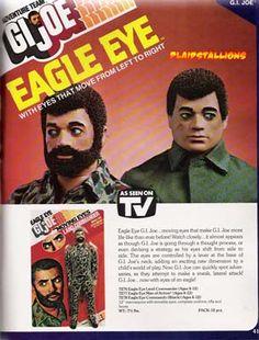 GI Joe Adventure team Eagle Eye Ad