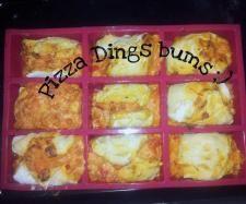 Rezept Pizza Dings Bums von Frau dingsbums - Rezept der Kategorie Backen herzhaft