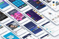 Mountify Mobile UI Kit by hoangpts on @creativemarket