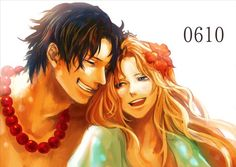 Ace and Rouge #one piece
