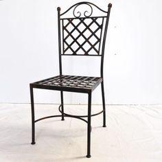 artesanias metalicas - Buscar con Google Iron Furniture, Steel Furniture, Furniture Design, Dinning Table, Dining Chairs, Pipe Bed, Metal Bending, Diy Workbench, Wood Steel