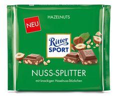 RITTER SPORT Nuss-Splitter 250g #schokolade