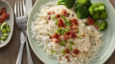 Rich creamy ranch sauce elevates chicken breasts to a new level of savory comfort food in this incredibly easy slow-cooker dish that's served over rice.