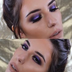 Purple smoke look now on my YouTube channel Mandy-Lee