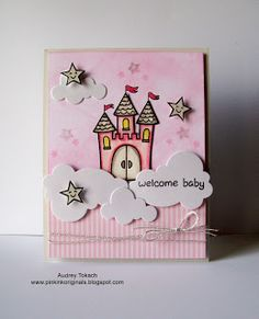 Pink Ink Originals: Lawnscaping Challenge #64 - Distress Maniacs