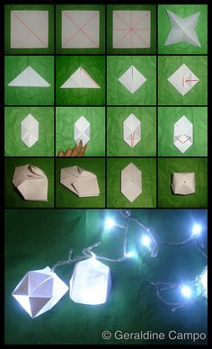 How to make an Origami Ball-Write a secret message on the inside. Have it be a compliment to someone for a team-building excercise Origami Ball, Origami And Quilling, Origami Love, Origami Fish, Paper Crafts Origami, Origami Stars, Diy Origami, Origami Tutorial, Diy Paper