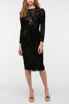 OMG a burnout velvet dress!!  I must own this soon!