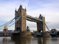Tower Bridge in its full beauty - London, England.