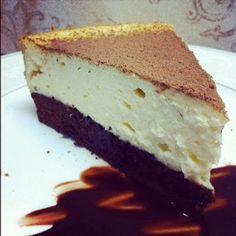 Brownie+Cheesecake+@keyingredient+#cake+#cheese+#chocolate+#easy+#cheesecake