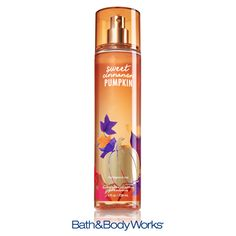 Sweet Cinnamon Pumpkin Fine Fragrance Mist — have a more delicate fragrance experience with a cozy blend of fresh pumpkin, crisp apple and spiced vanilla! ♥ #LUVBBW