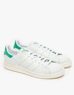 e85bda4ac7b36 Adidas   Stan Smith in White Green