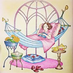 「憧れのお部屋」シリーズ♡ * ピンク大好き でもちょっと使い過ぎかな〜(*^^*) * #おとなの塗り絵 #憧れのお部屋 #ホルベイン #ポリクロモス #パイロットフリクションボールペン #三菱色鉛筆 #スタビロ #ダイソーパステル
