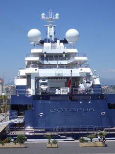 The Nobel Prize for justified spending goes to - Paul Allen's yacht the Octopus clocking in at 412 ft. w/two helicopter pads!