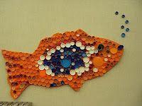 Remplacer les capsules par des cercles en papier de grandeurs et couleurs différents
