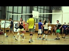 Final of University volleyball league 2011/2012