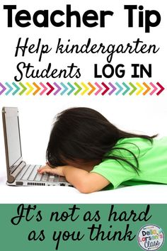 Getting kindergarten students logged into their Chromebooks is the hardest part of using technology in the classroom. Here is a strategy for helping get them in faster and more independently. Kindergarten Readiness, Kindergarten Classroom, Classroom Setup, Future Classroom, Classroom Organization, Google Classroom, Technology Lessons, Computer Lessons, Interactive Learning