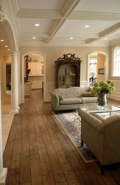Parkett Private Residences - traditional - wood flooring - chicago - Signature Innovations LLC How T Hardwood Floor Colors, Hardwood Floors, Wood Flooring, Interior Design Living Room, Living Room Designs, Living Room Flooring, Living Room Remodel, Adele, Home Remodeling