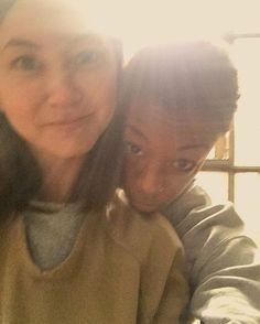 Orange is the New Black - Kimiko Glenn and Samira Wiley