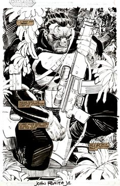 Punisher by John Romita Jr.