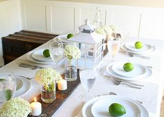 Simple Rustic Summer Tablescape