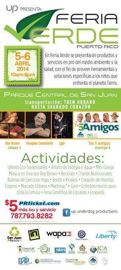 Feria Verde Puerto Rico 2014 #sondeaquipr #feriaverdepr #parquecentral #sanjuan