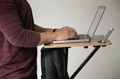 Energy-Boosting Desks - This Mobile Standing Desk is Affordable and Compact (GALLERY)