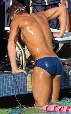 Swimmer in Speedo
