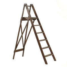 Cannen Ladder at Found Vintage Rentals. Folding wooden ladder perfect for displaying photos or escort cards