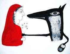 Little Red Riding Hood (the exchange of gifts)
