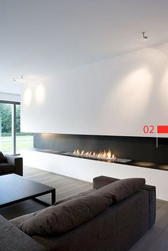 :: FIREPLACES :: beautiful design by Metalfire MetalFire - architectural fireplaces, I first discovered some of the fireplace details in one of my favourite book publications Belgium based Beta Plus ... love these and wish Vancouver wasn't so strict with our code issues ... another example of some very beautiful designs showcased  #fireplaces
