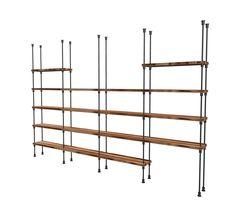 #bookstand #regał #nowoczesnyregał #regałloftprojekt @industrialstyle #loft Bookshelves, Bookcase, Book Stands, Shelving, Steampunk, Loft, Home Decor, Shelves, Bookcases