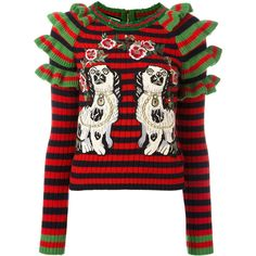 b5ea8c95ced A stellar option from Gucci s Resort collection  this striking and  intricately detailed jumper was first witnessed during Alessandro Michele s  thrilling c…