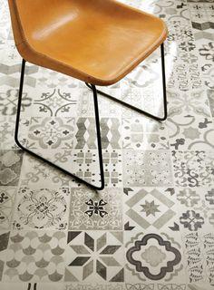 Patterned Cushion Sheet Vinyl Flooring Moroccan Design Tangier - Sheet vinyl flooring 14 feet wide