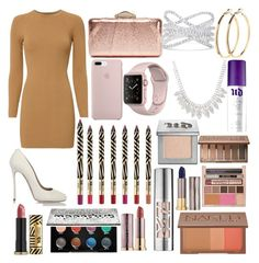 """""""Sin título #375"""" by frichu on Polyvore featuring moda, A.L.C., Dsquared2, KOTUR, Effy Jewelry, Pieces y Urban Decay"""