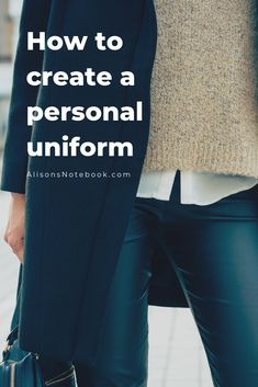 """Wondering how to create a personal uniform, or minimalist style guide? Want to save time, money and energy? Keep reading for tips on how to create a personal uniform and thoughtfully redesign your wardrobe. My wardrobe is extremely simple, and i often stick to the basics. And while I keep my wardrobe simple, I also chose to keep things that fit my """"dress code"""", even though it would be easier to buy 10 of the same outfit and donate the rest. Here are my tips. capsule wardrobe / minimalist…"""