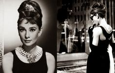 The little black Givenchy dress worn by Audrey Hepburn in Breakfast at Tiffany's