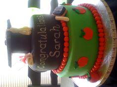 Graduation cake for teacher