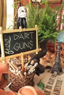 dart guns Indiana Jones Birthday Party, 6th Birthday Parties, Boy Birthday, Birthday Ideas, Birthday Activities, Grad Parties, Indiana Jones Adventure, Cruise Party, Nerf Party