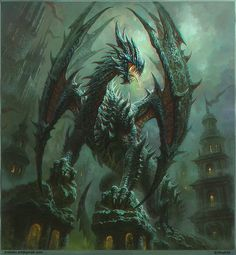 Tagged with wallpaper, dragon, fantasy; Dragons, and some other fantasy related wallpapers dump Dragon Medieval, Dragon Illustration, Cool Dragons, Dragon Artwork, Dragon Pictures, Fantasy Kunst, Mythological Creatures, Magical Creatures, Fantasy Artwork