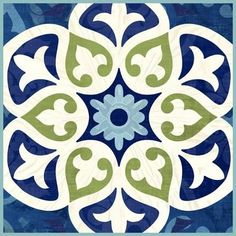** Nice! Barcelona Basic Tile by Jennifer Brinley | Ruth Levison Design