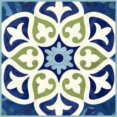 ** Nice! Barcelona Basic Tile by Jennifer Brinley | Ruth Levison Design